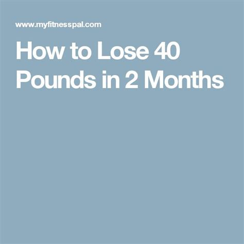 Detox Diet To Lose 10 Pounds In 2 Weeks by 25 Best Ideas About Lose 40 Pounds On One