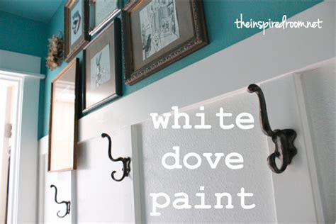 benjamin white dove trim paint