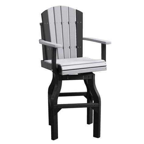 Adirondack Bar Chairs by Crestville Adirondack Captain Swivel Bar Chair