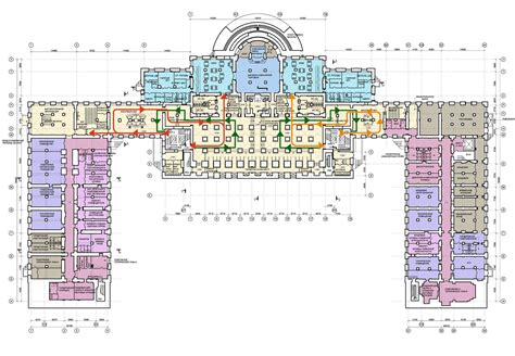 Buckingham Palace Floor Plan by Floorplans Of The Alexander Palace