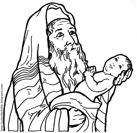 baby jesus presented at the temple coloring pages the presentation in the temple color the bible