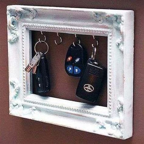picture frame ideas diy repurpose reuse old picture frame ideas7