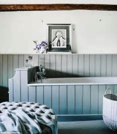 painted tongue and groove bathroom lifestyle light as a feather daily mail online