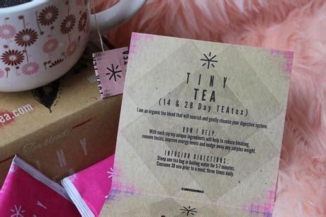 Tiny Tea 14 Day Detox by Tiny Tea Teatox Plan Detox 14 D 237 As Paperblog