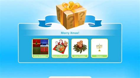 sims freeplay christmas update christmas gifts sims freeplay holiday update youtube