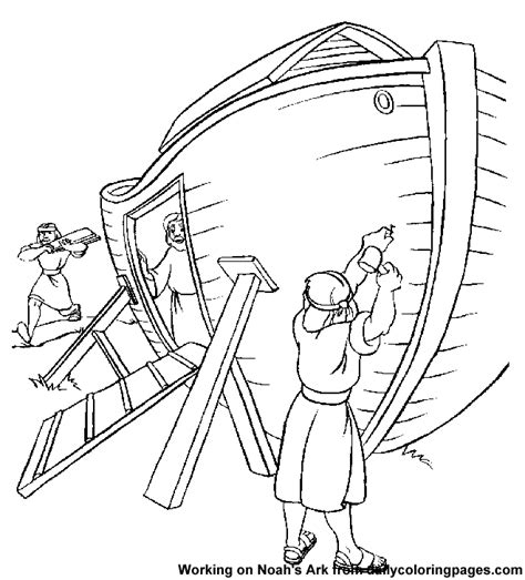 coloring pages for noah s ark noah ark coloring page coloring home