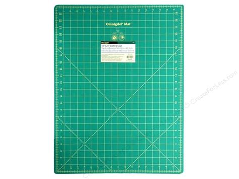 1 Inch Grid Cutting Mat - omnigrid 18 x 24 in cutting mat createforless