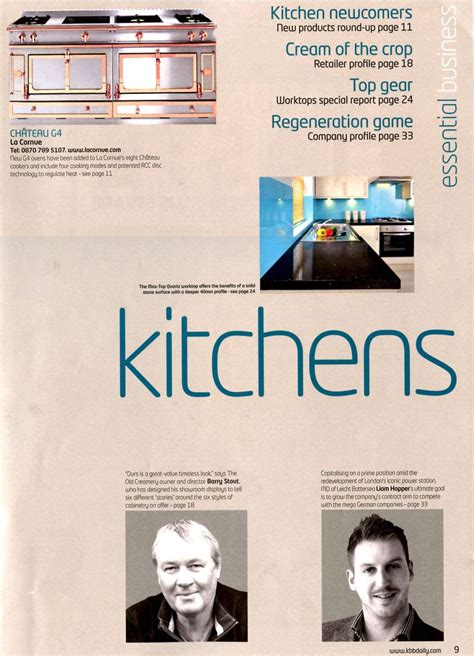 essential kitchen bathroom business 1000 images about la cornue in the press on pinterest