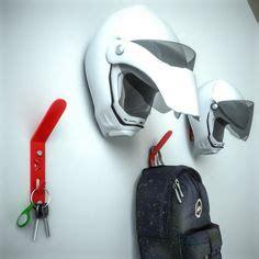 motorcycle helmet jacket key hanger organizer stand holder