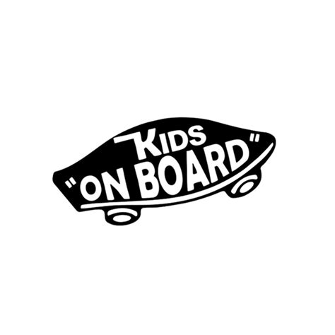 Vans Off The Wall Stickers aliexpress com buy internal kids on board baby on board
