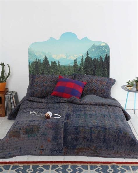 tete de lit montagne charmant customiser une tete de lit en bois 1 tete de