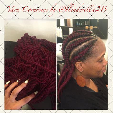 Braid Yarn Into Hair | the new braid trend for 2016 in philly yarn cornrows