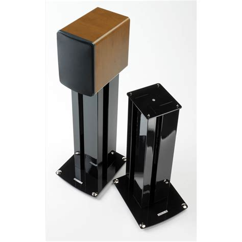 soundstyle speaker stands z1 pair bookshelf stand mount