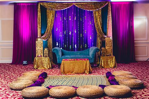 colour themes for mehndi bold gem tones for the mehndi sangeet dholki stage