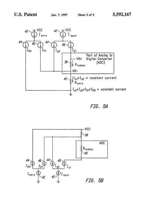 analog voltage controlled resistor patent us5592167 analog digital converter using current controlled voltage reference