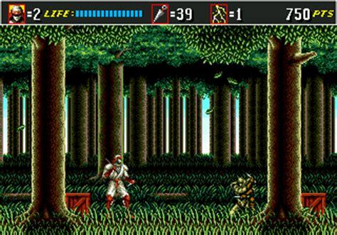 sega genesis shinobi 3 play shinobi iii return of the master sega genesis