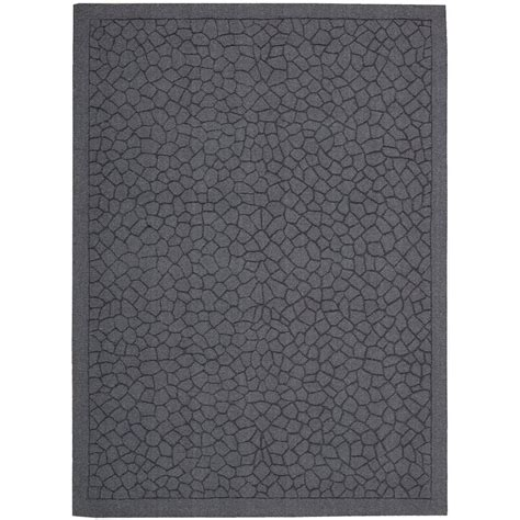 overstock area rugs nourison overstock barcelona lagoon 3 ft 6 in x 5 ft 6 in area rug 090188 the home depot