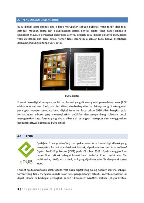 format buku digital azw cara membuat buku digital