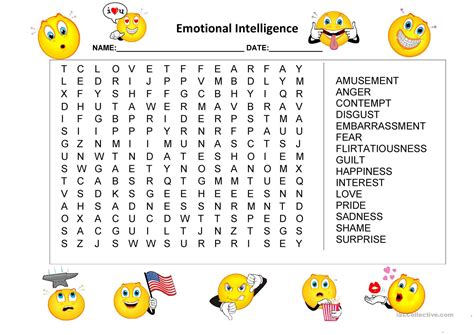Intelligence Search Emotional Intelligence Worksheets The Best And Most