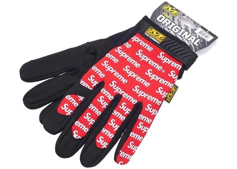 supreme wear supreme mechanix wear gloves