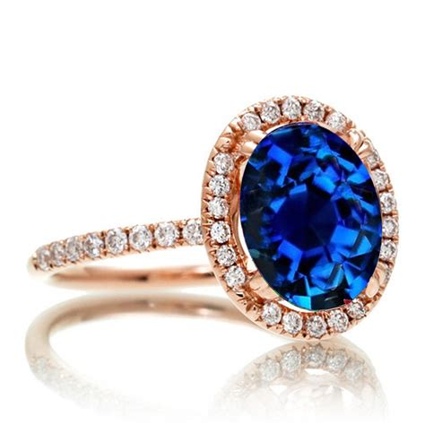 1 5 carat oval ring gold 1 5 carat oval classic sapphire and halo ring on