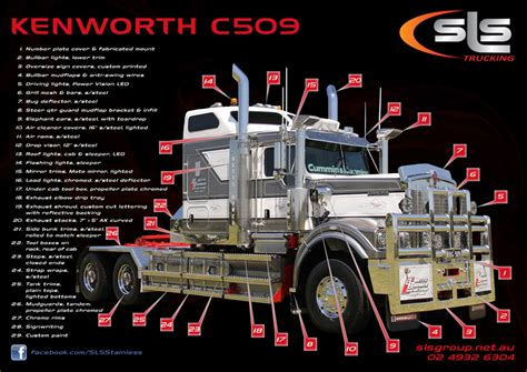 kenworth accessories c509