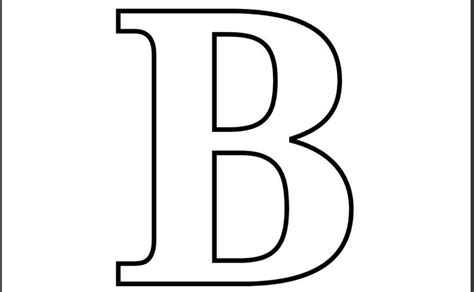 printable coloring pages letter b printable letter b coloring page printable alphabet
