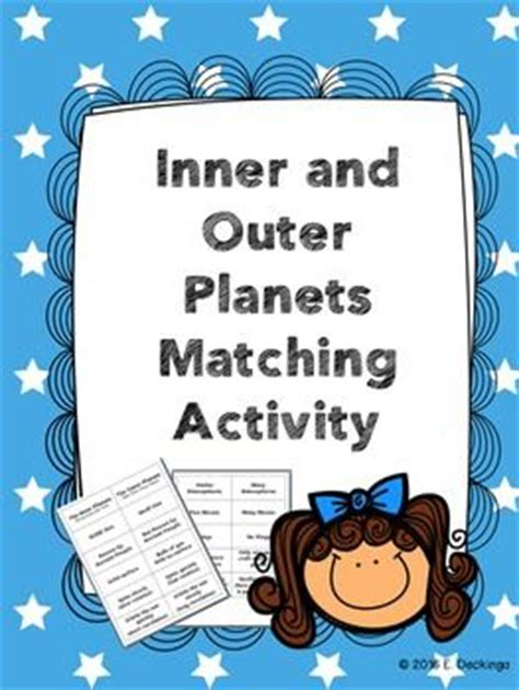 Inner And Outer Compare And Contrast Essay by Matching Cards For Students To Compare And Contrast The Inner And Outer Planets Teaching