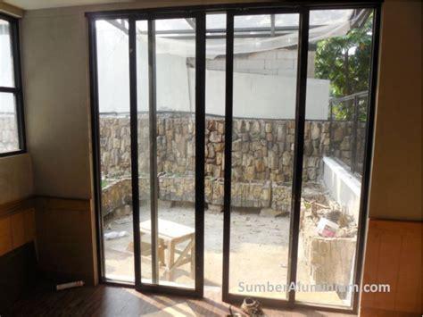 pasang pintu geser aluminium sumber aluminium kaca
