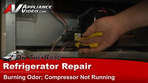 refrigerator repair diagnostic not cooling compressor