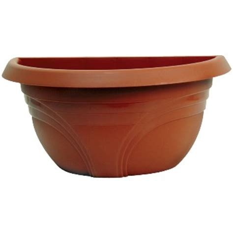 Plastic Half Wall Planters by Buy The Ames Wp1612tc Planter Half Wall Terra Cotta