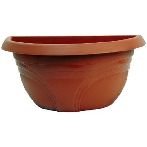 Half Planter Pots by Buy The Ames Wp1612tc Planter Half Wall Terra Cotta