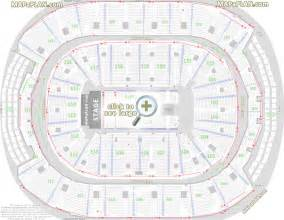 acc floor plan toronto air canada centre seat row numbers detailed