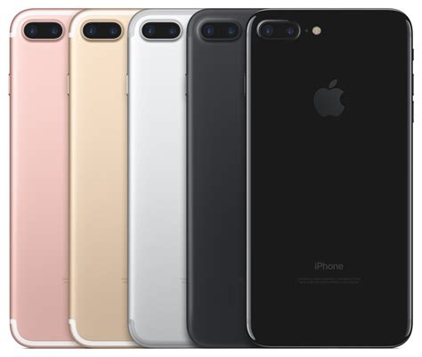 apple colors apple debuts iphone 7 iphone 7 plus water resistant