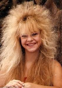 Bad Hair Day The 80s Styles You D Never Catch Anyone Sporting Today Daily Mail