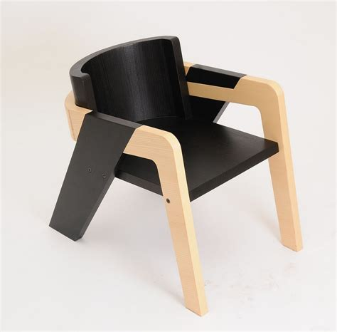 elegant self assembly io chair designed for introspection