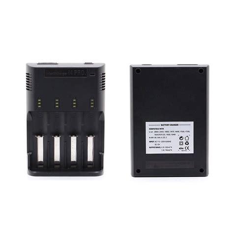 Jetbeam I4 Pro Intelligent Charger Battery 18650 Aa Aaa Dll chargeur intelligent jetbeam i4 pro universel pour batteries li ion ni mh et ni cd