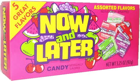 Movie Theater Candy - Now & Later Assorted Flavors Theater ... Now And Later Candy Flavors