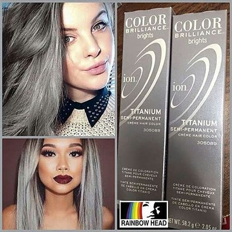 color brilliance titanium 17 best ideas about ion color brilliance on