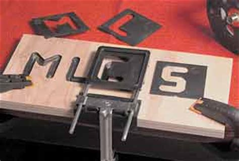 mlcs dish cutters  groove sign lettering router letter