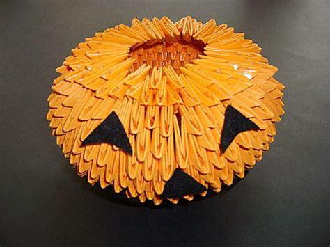 3d origami pumpkin origami 3d origami