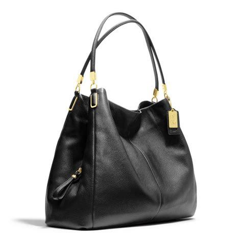 Shoulder Bag Coach coach phoebe shoulder bag in leather in black lyst