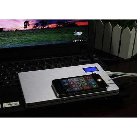 Powerbank 20000mah Portable Power Bank For Laptop Silver powerbank 20000mah portable power bank for laptop silver jakartanotebook