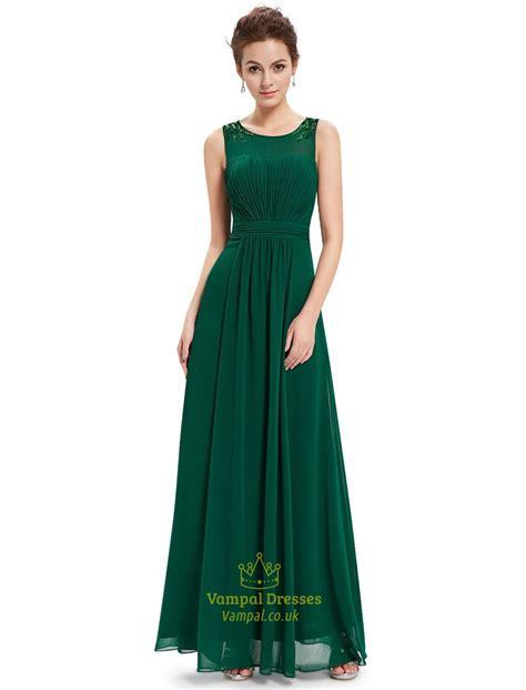 beaded green dress emerald green chiffon floor length bridesmaid dresses with