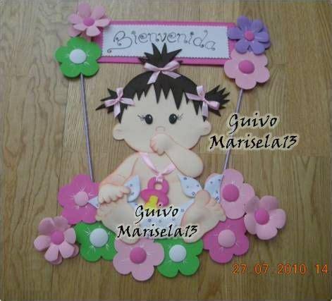 adornos para bautismo en goma mini lunituns imagui letreros bienvenidos para recien nacidos en foami imagui recuerdos beb 233