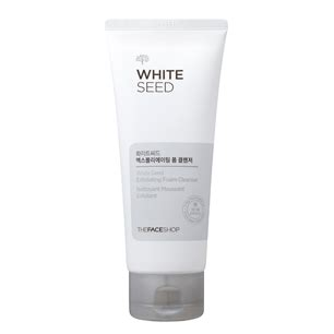 Thefaceshop White Seed Exfoliating Foam Cleanser thefaceshop story