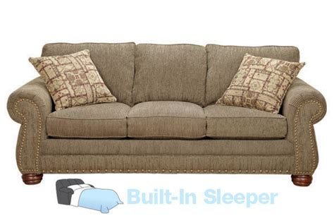 grace chenille sofa with built in sleeper