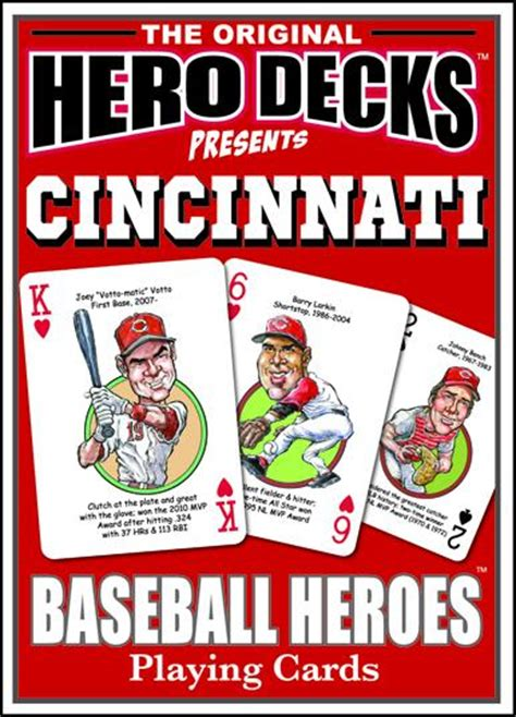Cincinnati Gift Card - cincinnati reds playing cards baseball playing cards for cincinnati reds fans
