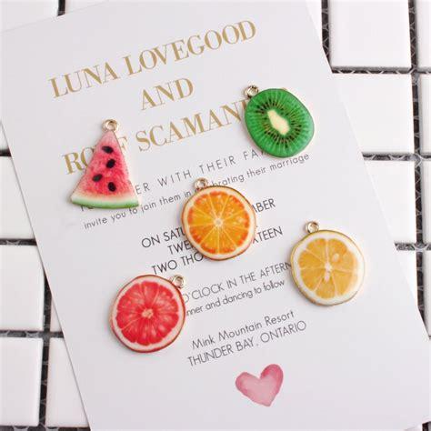 daisies 10pcs colorful drop zinc alloy fruit charm pendants for diy earring bracelet craft