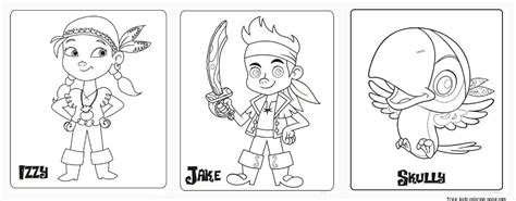 Neverland Pirates Coloring Free Printable Coloring Pages Jake And The Neverland Coloring Pages Printable